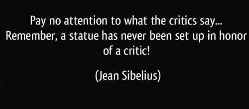 ignore_criticism