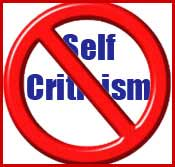 Removing-self-Criticism